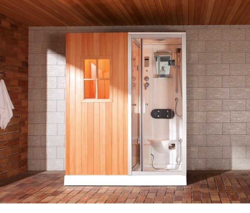 Cabina de hidromasaje con sauna BR18010001 Cabinas Serie Sauna