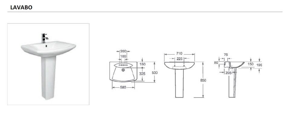 lavabo 60 cm artis. Black Bedroom Furniture Sets. Home Design Ideas