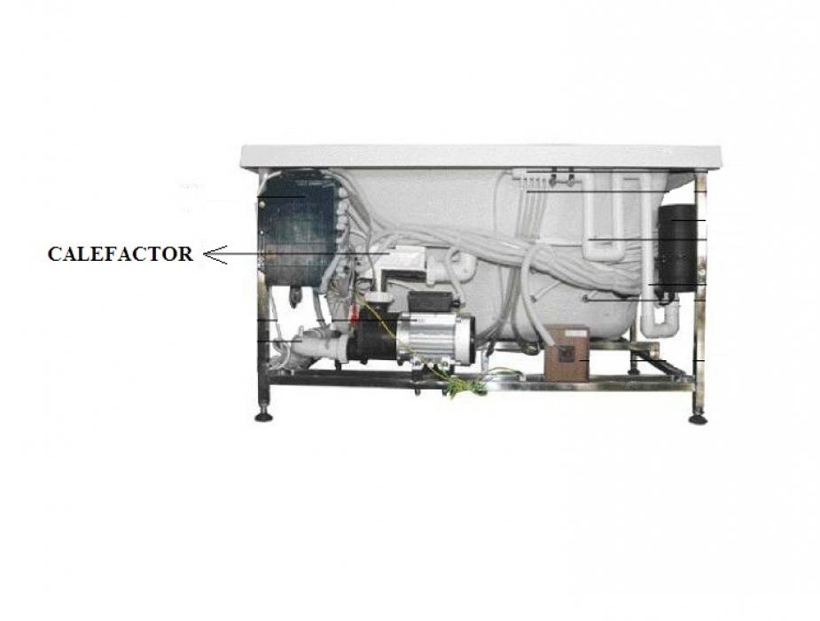 Calefactor programable - Calefactor para bano ...